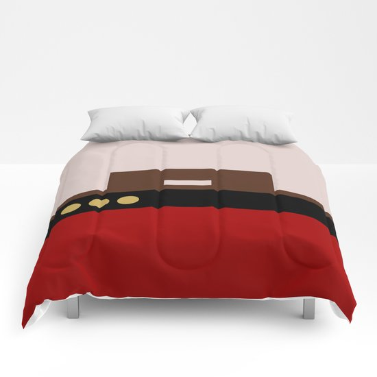 William Riker - Minimalist Star Trek TNG The Next Generation - Commander - startrek - Trektangles Comforters