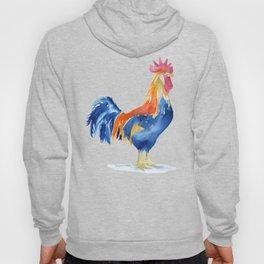 Rooster Watercolor Hoody