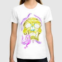 gore T-shirts featuring SKULL-GORE by scarecrowoven