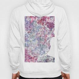 Detroit map Hoody