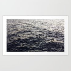 Deep Sea Art Print