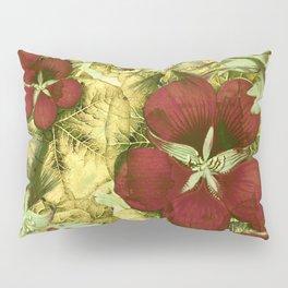 nasturtium with golden leaves Pillow Sham