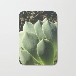 Aeonium lancerottense succulent Bath Mat