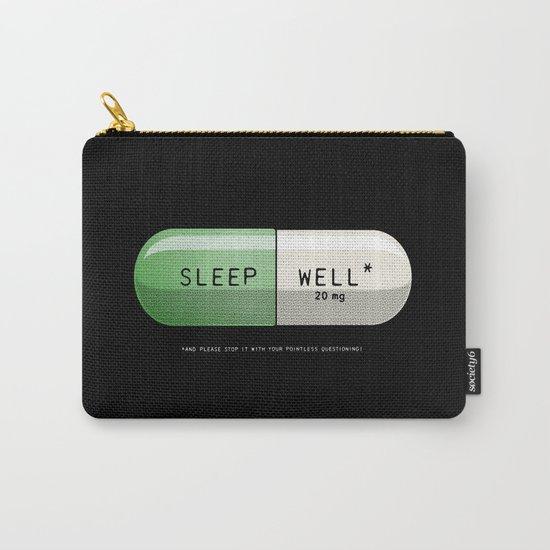 Sleep Well* Carry-All Pouch