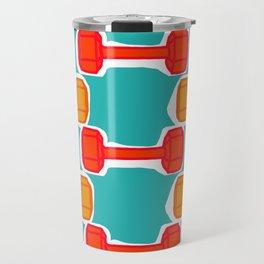 Dumbbells Travel Mug
