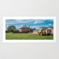 British farm Art Print