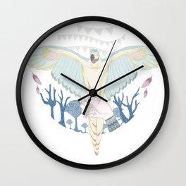 cirque parrot! Wall Clock