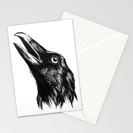 Bodiless Raven Stationery Cards