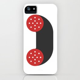 sausage phone iPhone Case