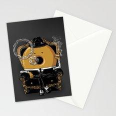 Gangster Donut Stationery Cards
