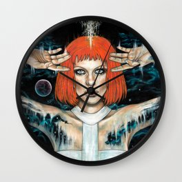 Leeloo Dallas Wall Clock