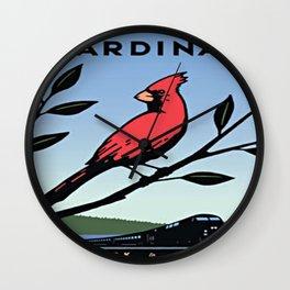 Vintage poster - Cardinal Wall Clock