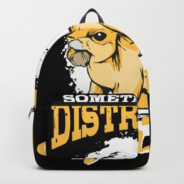 Squirrel T-shirt Gift Kids Backpack
