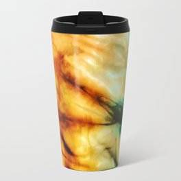 Green Tie Dye Travel Mug