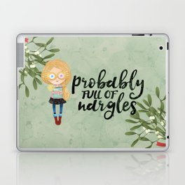Probably full of nargles Laptop & iPad Skin