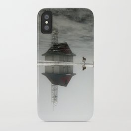 Dogs & Fog iPhone Case