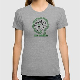 Kansas City Ball Hockey Wildin' Owt [Small Graphic] by John F. Malta T-shirt