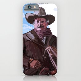The Shootist iPhone Case