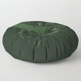 The Legend of Forest Hunter Floor Pillow