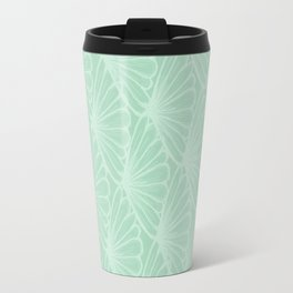 Lady in Mint Travel Mug