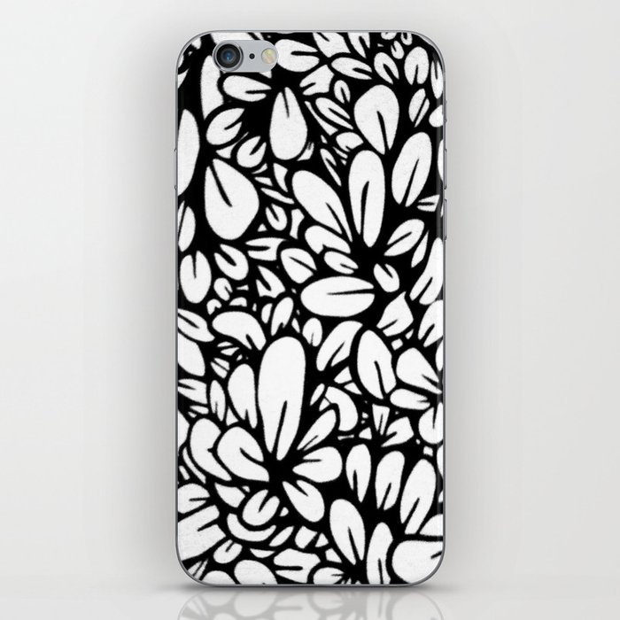 Crazy Flowers iPhone Skin