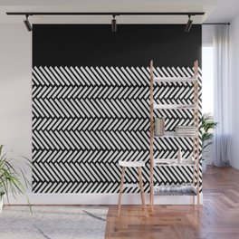 Herringbone Boarder Wall Mural