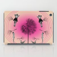 bebop iPad Cases featuring Let's fly away on a dandelion by AmDuf