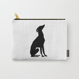 Italian Greyhound Silhouette Carry-All Pouch