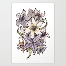 Little Bouquet Of Spring Art Print