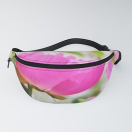 Peony in bloom Fanny Pack