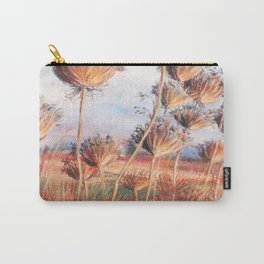 Queen Anne's lace_pastel art Carry-All Pouch