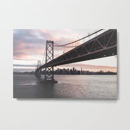 Bay Bridge - San Francisco, CA Metal Print