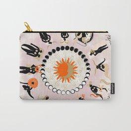 Zodiac Wheel Carry-All Pouch