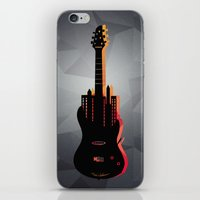 music iPhone & iPod Skins featuring music  by mark ashkenazi