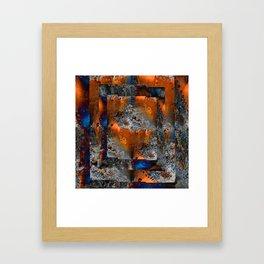 age & decay Framed Art Print