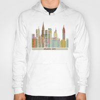 atlanta Hoodies featuring Atlanta by bri.buckley