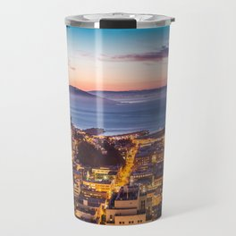 Coit Tower Alcatraz Travel Mug