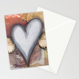 Heart Wings Stationery Cards