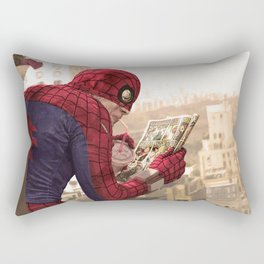 One on One (clean version) Rectangular Pillow