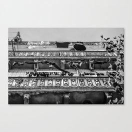 Accroché Canvas Print