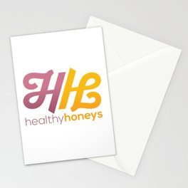 Healthy Honeys Logo! Stationery Cards