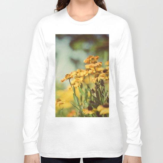 Fall Flowers Long Sleeve T-shirt