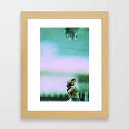Hula Girl Framed Art Print