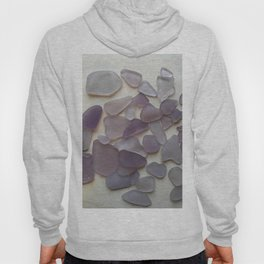 Genuine Purple Sea Glass Collection Hoody