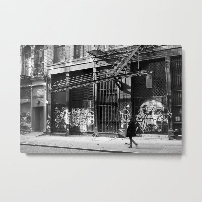 Crosby Street SoHo Metal Print