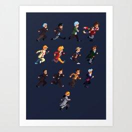 The Doctors Art Print