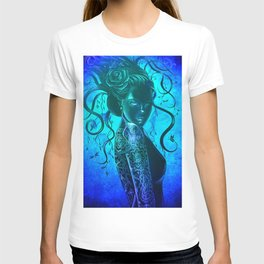 Moody Blue  T-shirt