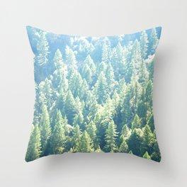 California trees Throw Pillow
