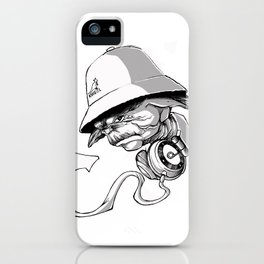 Life, Hip-Hop is! iPhone Case