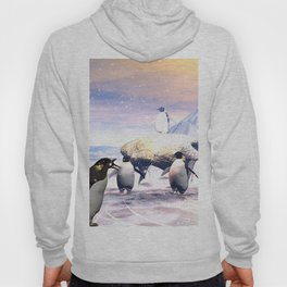 Funny penguins Hoody